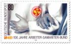 Stamp: 100 Jahre Arbeiter-Samariter-Bund
