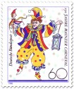 Stamp: Bajass, 150 Jahre Mainzer Carneval