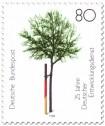 Stamp: Baum am Pfahl (Entwicklungsdienst)