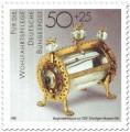 Stamp: Bergkristallreliquiar (um 1200)