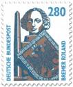 Stamp: Bremer Roland