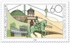 Stamp: 700 Jahre Düsseldorf - Sehenswürdigkeiten