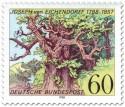 Stamp: Eiche für Joseph von Eichendorff (Dichter)