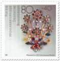 Stamp: Goldschmuck Blütenstrauß, um 1620