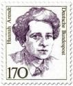 Stamp: Hannah Arendt (Schriftstellerin, Philosophin)