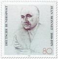 Stamp: Jean Monnet (Europäer)