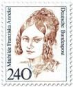 Stamp: Mathilde Franziska Anneke Schriftstellerin