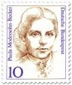Stamp: Paula Modersohn-Becker (Malerin)