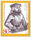 Stamp: Ulrich von Hutten (Ritter)