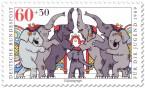Stamp: Zirkus Elefanten