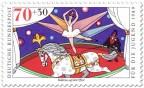 Stamp: Zirkus Pferd mit Ballerina