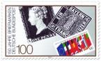 Stamp: 150 Jahre Briefmarken