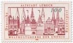 Stamp: Altstadt Lübeck Weltkulturerbe