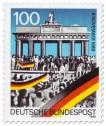 Stamp: Brandenburger Tor (Mauerfall)