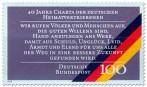 Stamp: Charta der deutschen Heimatvertriebenen