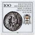 Stamp: 800 Jahre Deutscher Orden (Siegel)
