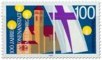 Stamp: 100 Jahre Diakonenanstalt Rummelsberg