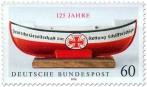 Stamp: Deutsche Gesellschaft zur Rettung Schiffbrüchiger (125 Jahre)