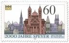 Stamp: 2000 Jahre Speyer (Dom und Sehenswürdigkeiten)