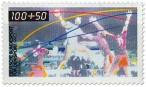 Stamp: Hallenhandball 1990