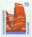 Stamp: Helgoland Roter Felsen