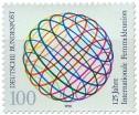 Stamp: Int. Fernmeldeunion, Weltkugel