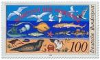 Stamp: Nordsee Schutz Wattenmeer