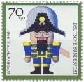 Stamp: Nussknacker AUS Holz
