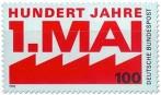 Stamp: Tag Der Arbeit 1 Mai 1990