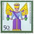 Stamp: Weihnachtsengel (Kunsthandwerk)