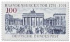Stamp: Brandenburger Tor Berlin 200