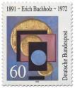 Stamp: Erich Buchholz Maler