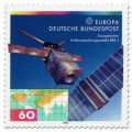 Stamp: Esa Satellit Ers1
