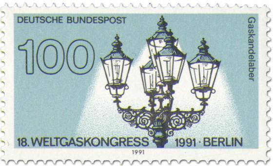 Stamp: Gaskandelaber (von K. F. Schinkel)