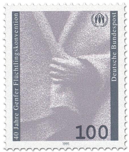 Stamp: 40 Jahre Genfer Flüchtlingskonvention