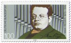 Stamp: Max Reger (Komponist)