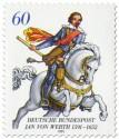 Stamp: Reitergeneral Jan von Werth