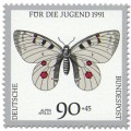 Stamp: Schmetterling Alpen Apollo