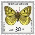 Stamp: Schmetterling Alpen Gelbling