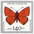 Stamp: Schmetterling Grosser Feürfalter