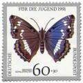 Stamp: Schmetterling Grosser Schillerfalter