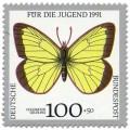 Stamp: Schmetterling Hochmoor Gelbling