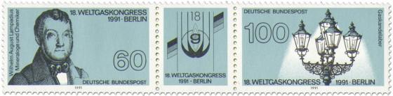 Stamp: Weltgaskongress Berlin 1991