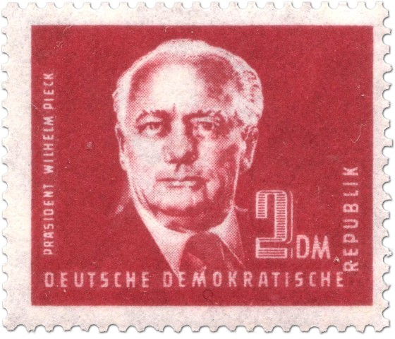 Stamp: Wilhelm Pieck 2 DM
