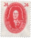Stamp: Gottfried Wilhelm Leibniz