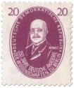 Stamp: Walter Nernst (Chemiker)