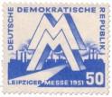 Stamp: DDR - Briefmarke: Leipziger Messe 1951