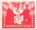 Stamp: Deutsch-Polnische Freundschaft