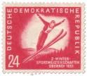Stamp: Skispringen Meisterschaft Oberhof 1951
