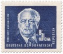 Stamp: 5 DM Wilhelm Pieck (Politiker)